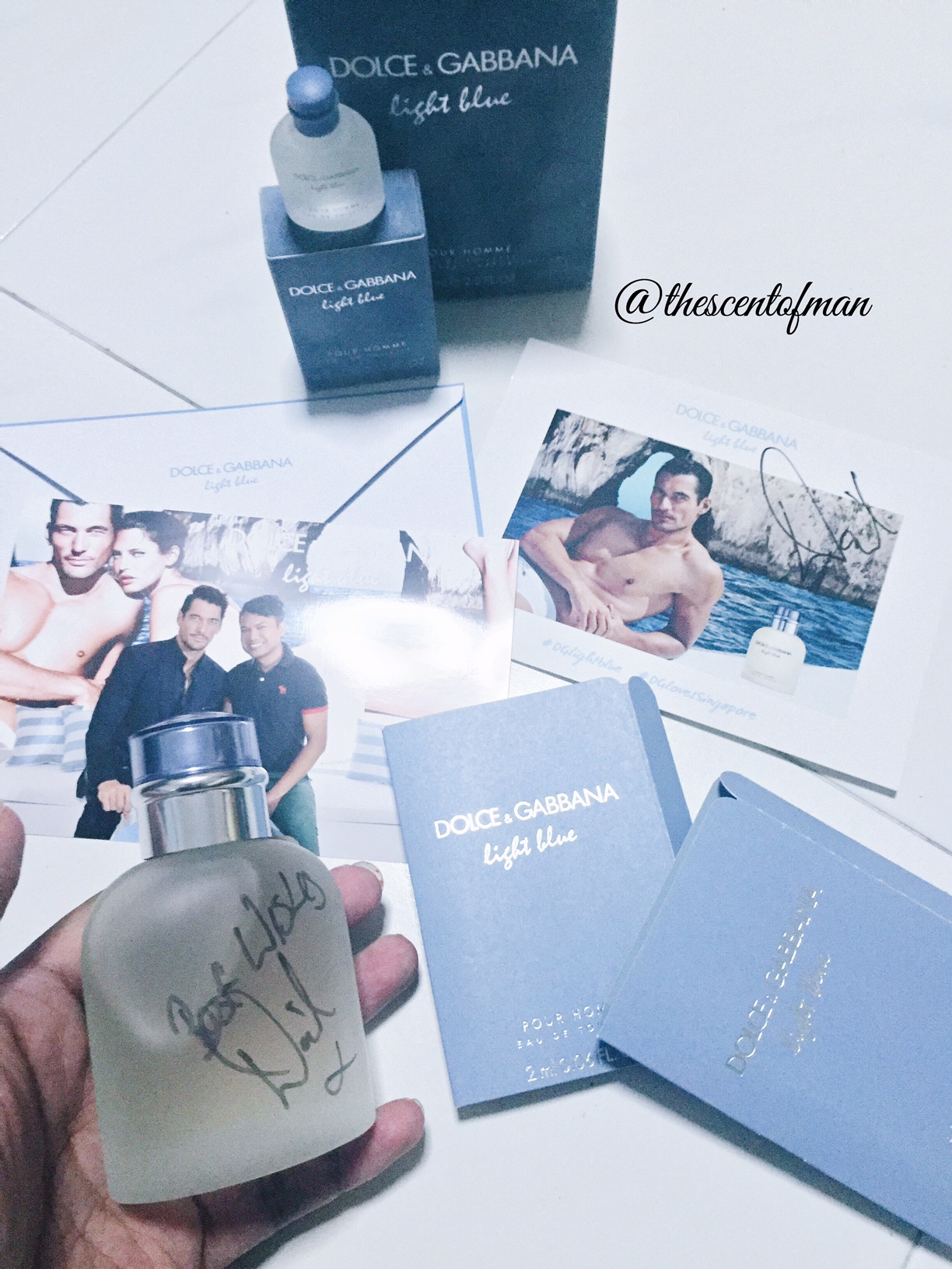 Dolce Gabbana Light Blue Pour Homme Meet And Greet With David