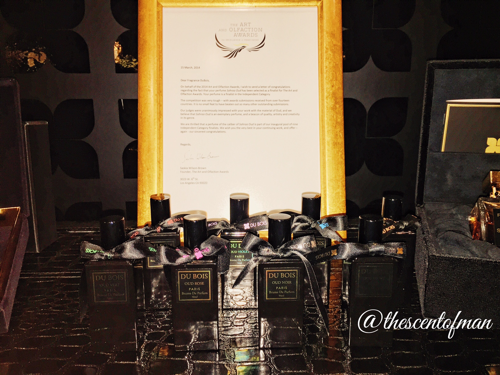 Fragrance du bois u2013 1st anniversary party and the launch of london